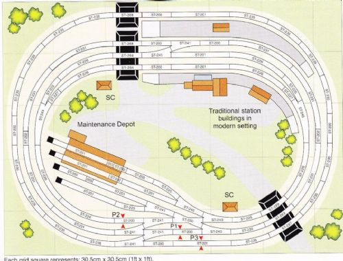 Peco Setrack OO Plan 17 A Twin-Track Main Line In The Traditional Style (2)